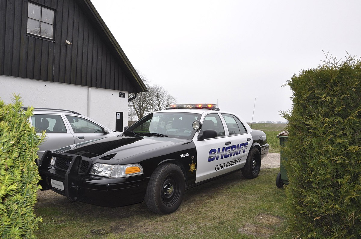 Ford Crown Victoria Police Inspector Sheriff Hire Trelleborg