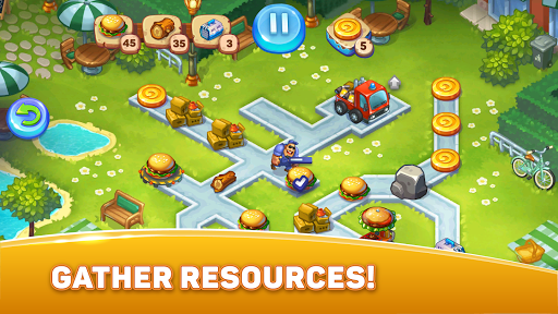 City Rescue Team: Time management game 1.6.0 screenshots 1