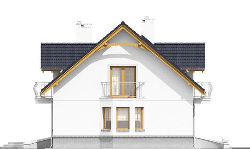 Dom Dla Ciebie 1 bez garażu B - Elewacja lewa