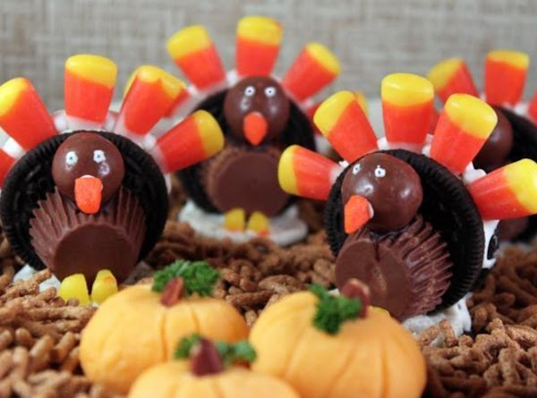 Turkey Cookies, Placeholders, Favors Recipe