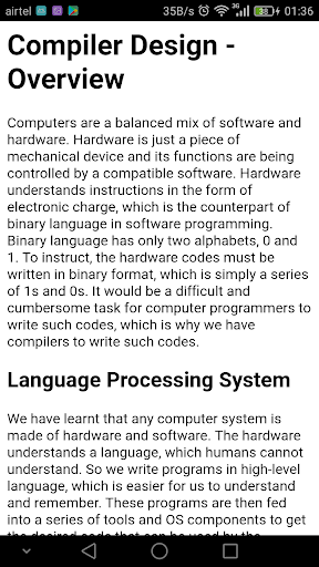 Download Learn Compiler Design Guide Free For Android Learn Compiler Design Guide Apk Download Steprimo Com