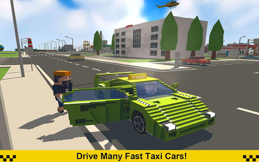 Crazy Taxi Driver: American Blocky Cab 1.4 screenshots 3