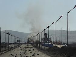 Atacama on fire