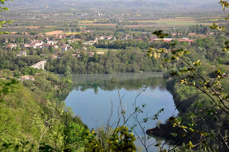 Photo: Montée depuis Saint-Nazaire-en-Royans vers le château de Rochechinard (confluent Bourne-Isère)