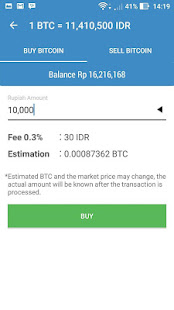 Bitcoin Wallet - Ponsel - Android - Pilih wallet - Bitcoin anda