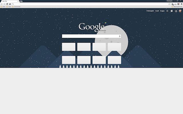 Winter: Chrome Theme