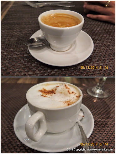 Espresso and Capuccino at Hill Station  Baguio City PH, 2014