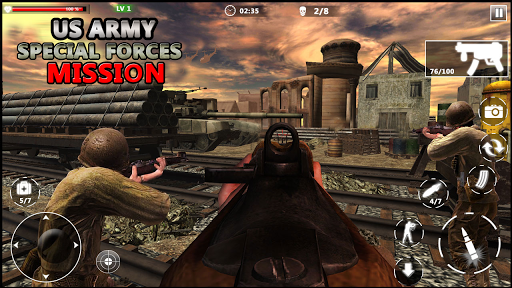 US Army Special Forces Commando World War Missions 1.1 androidappsheaven.com 1