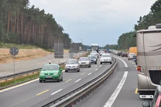 Photo: Chvilkama to na dálnici zhoustlo. Jinak ale byla cesta naprosto pohodová.
