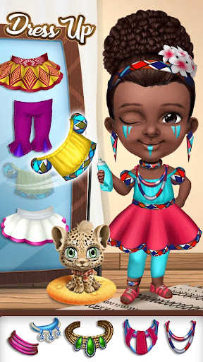 Pretty Little Princess - Dress Up, Hair & Makeup apkpoly screenshots 2