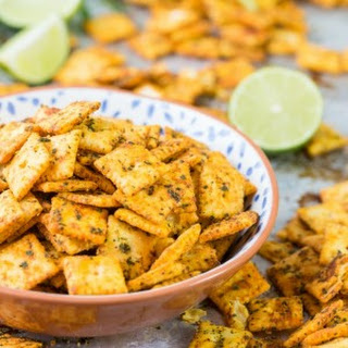 Mexican Spice Cheese Crackers