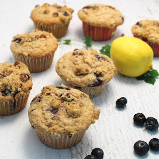 Blueberry Streusel Coffee Cake Muffins