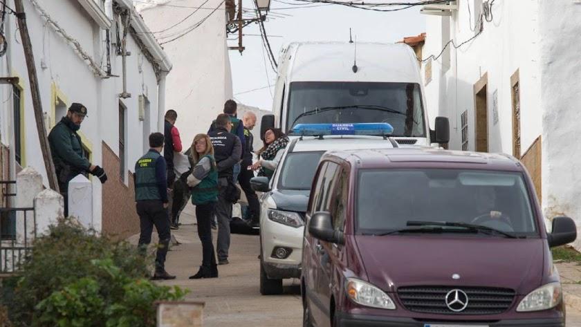 Bernardo Montoya, el detenido por el crimen de Laura Luelmo, trató de huir a pie cuando este lunes.