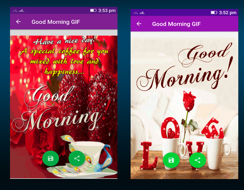 Good morning gif android apps on google play good morning gif screenshot kristyandbryce Image collections