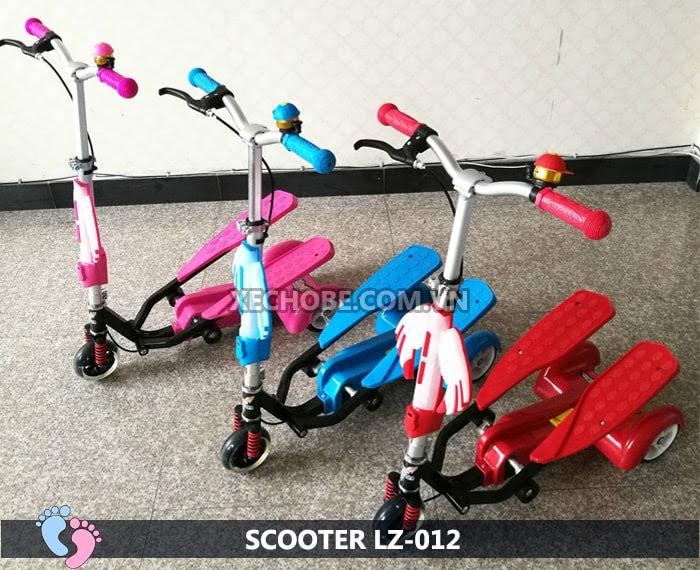 Xe trượt Scooter đạp chân LZ-012 có đèn, nhạc 1