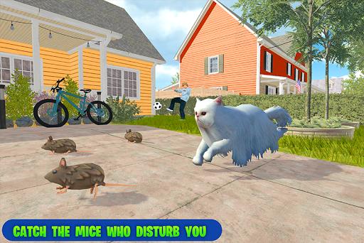 family pet cat simulator: simulation games screenshots 1