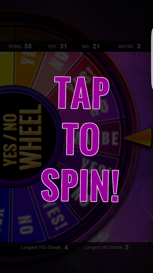 Yes / No Wheel - Android Apps on Google Play