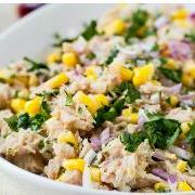 Tuna & Sweet Corn Salad Bowl