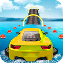 Water Surfing Car Stunts icon