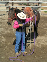 Photo: Next I will run the tail of the rope through the ring and create a large loop.