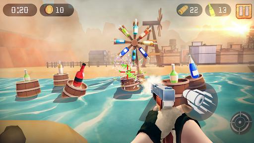 Télécharger Gratuit Bottle Shooting Game apk mod screenshots 3