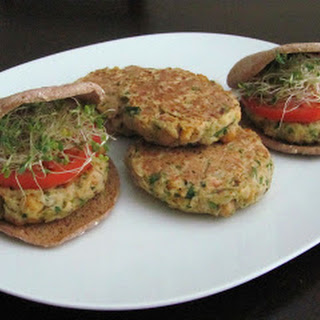 Ultimate Veggie Burgers (Chickpea Sprout Burgers)