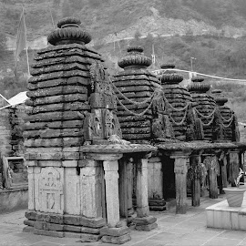Temple by Sanjeev Kumar - Black & White Buildings & Architecture (  )