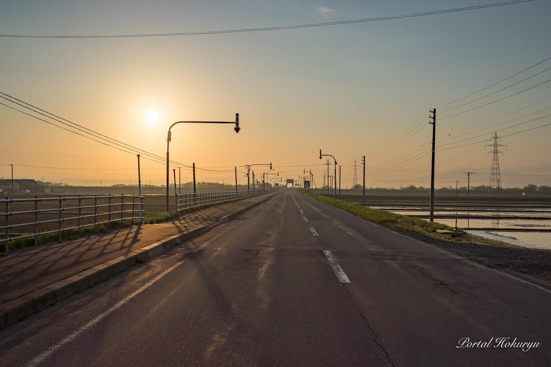 和地区東側の風景