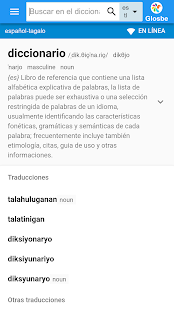 Tagalo-Español Diccionario - náhled