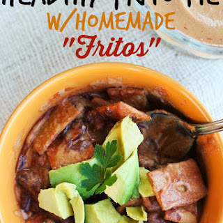 "Healthy Vegan ""Frito"" Pie"