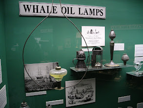 Photo: whale oil lamps