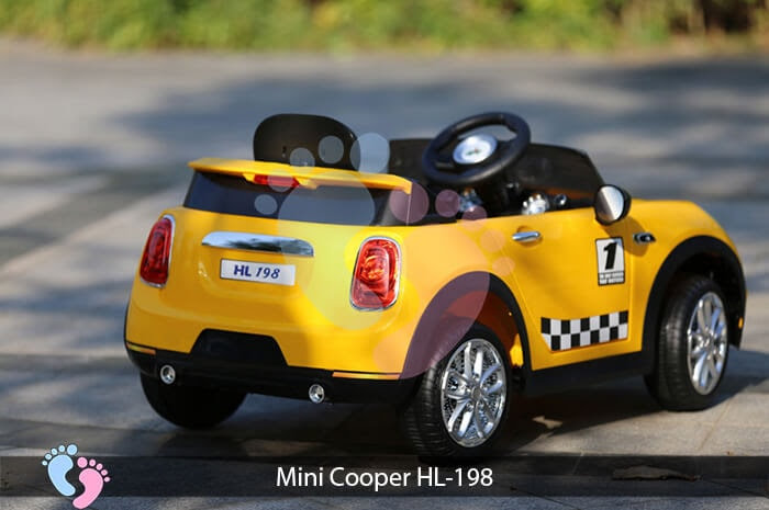 Xe oto điện trẻ em Mini Cooper HL-198 12