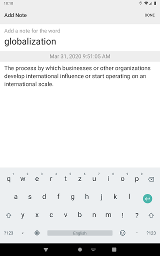 Dictionary & Translator Free screenshot 23