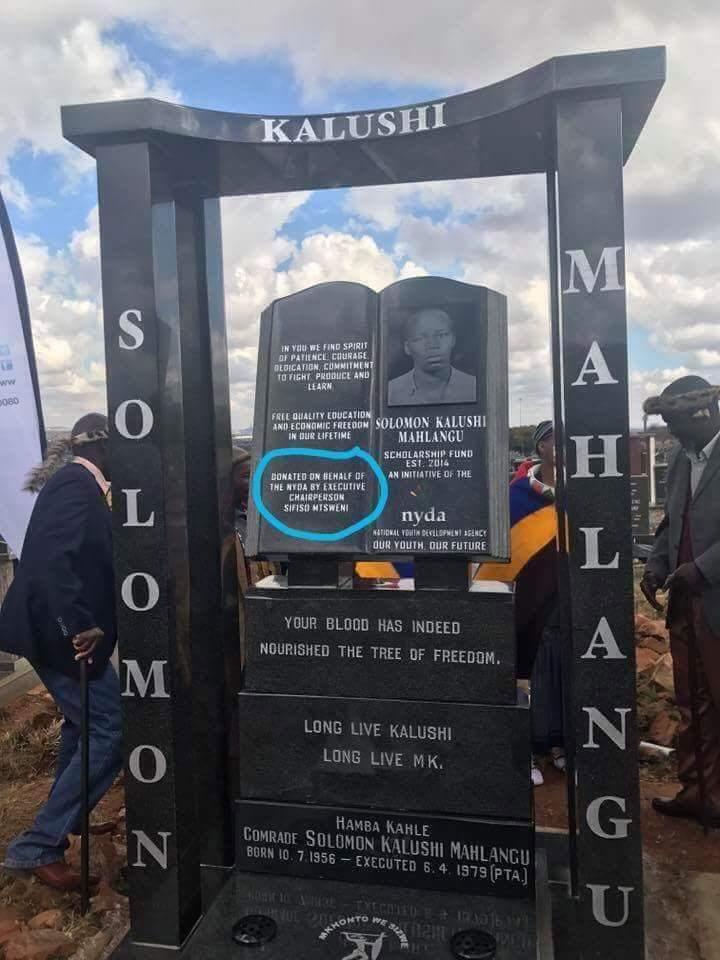 solomon mahlangus tombstone