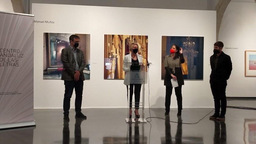 Presentación de la iniciativa en el Centro Andaluz de la Fotografía (CAF).