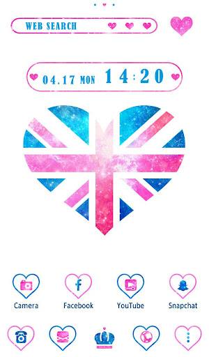 Wallpaper Union Jack Heart 1.0.0 Windows u7528 1
