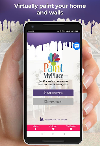 PaintMyPlace - Paint Your Home With Real Colors screenshot 1