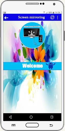 Connector Tv ( usb-otg-hdmi-mhl-connect phone ) screenshot 1