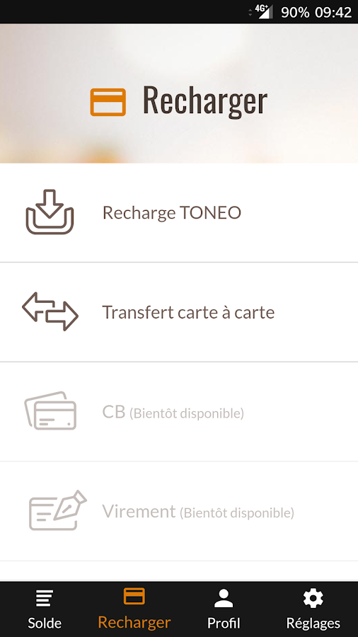 Toneo First – Capture d'écran