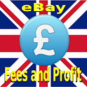 Fees and Profit for eBay U.K. icon