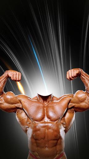 Bodybuilder Photo Montage
