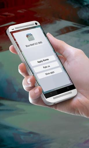 無料个人化Appのブルーモチーフ GO SMS|記事Game