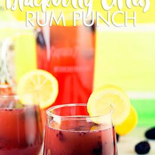Blackberry Citrus Rum Punch #SunsOutRumsOut.