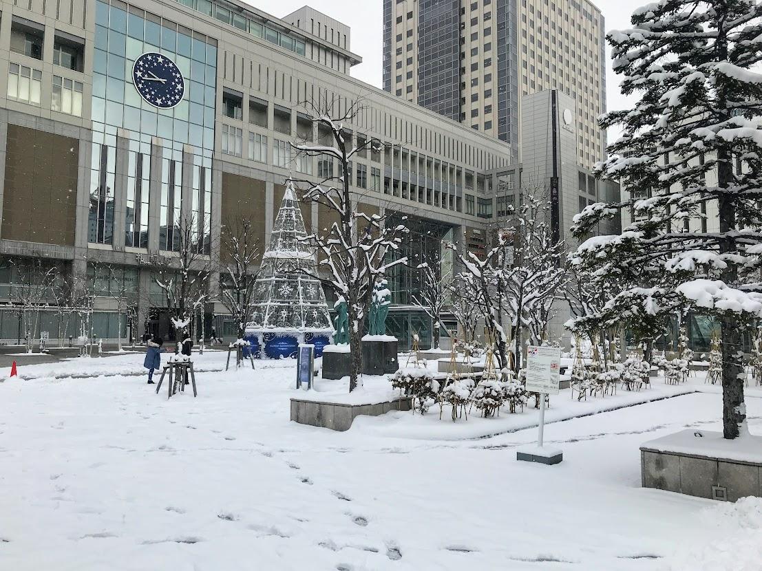 2019年12月4日(水)午前・札幌駅