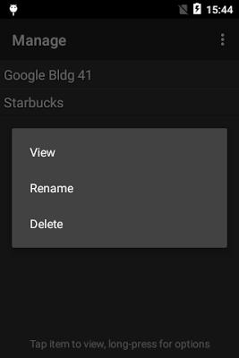GPS Reader - screenshot