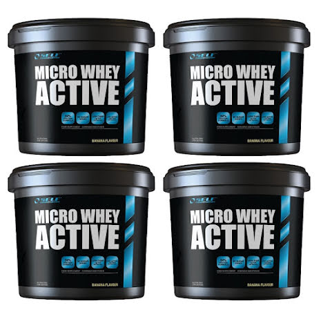 4 x Self Omninutrition Micro Whey Active 1kg