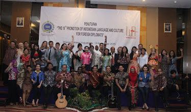 Photo: Sampai Jumpa: The 10th Promotion of Indonesian Language & Culture for Foreign Diplomats