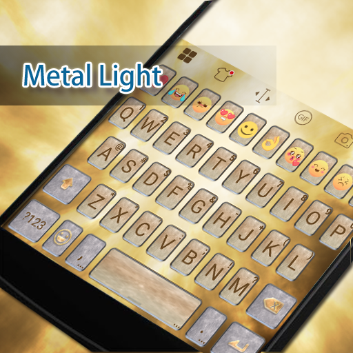 Metallic Flavor Keyboard -Gif 遊戲 App LOGO-硬是要APP