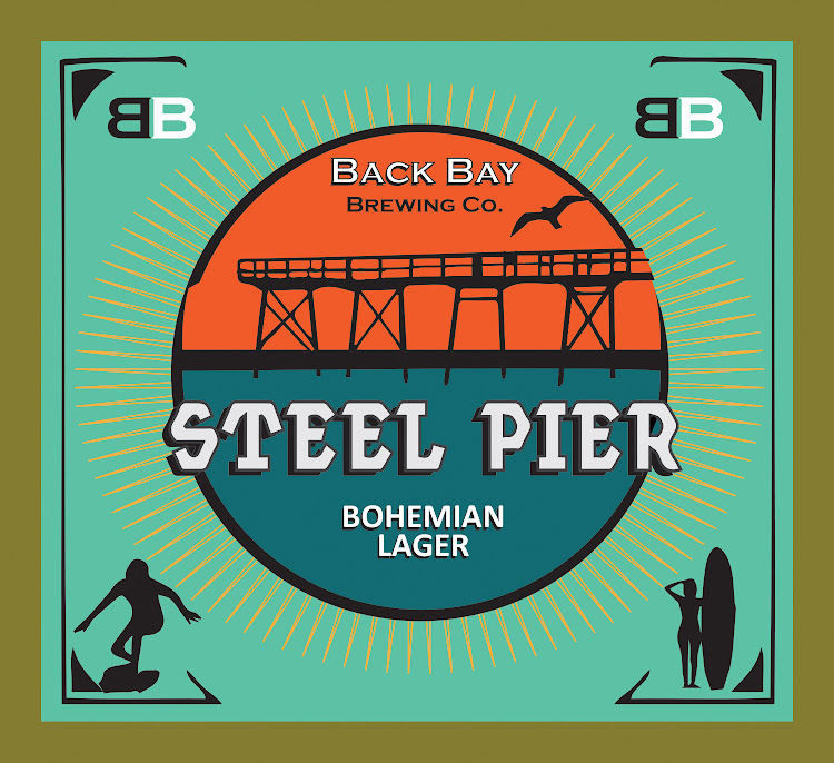 Logo of Back Bay Steel Pier Bohemian Lager