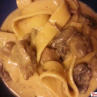 Round Steak Stroganoff new